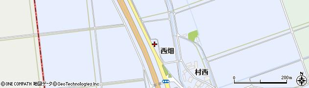山形県東田川郡庄内町跡西畑25周辺の地図