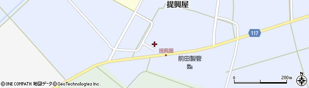 山形県東田川郡庄内町提興屋野岡38周辺の地図