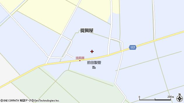 山形県東田川郡庄内町提興屋野岡28周辺の地図