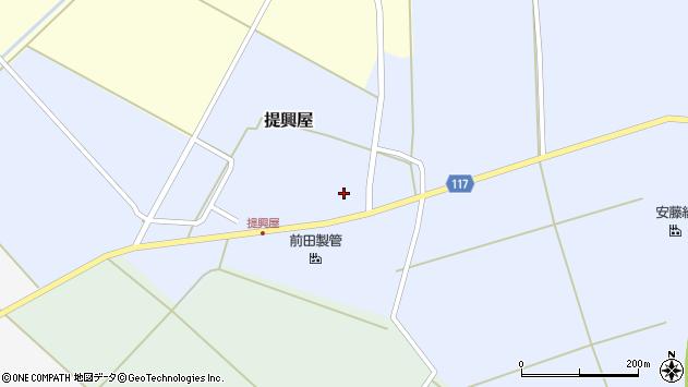 山形県東田川郡庄内町提興屋野岡25周辺の地図