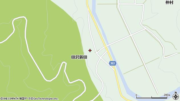 山形県酒田市田沢田沢新田84周辺の地図