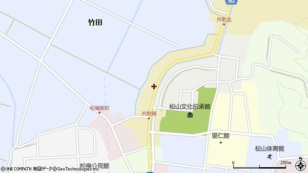 山形県酒田市片町38周辺の地図