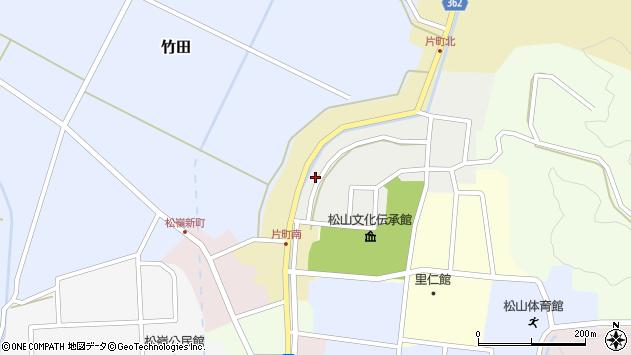 山形県酒田市北町44周辺の地図