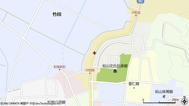 山形県酒田市片町39周辺の地図