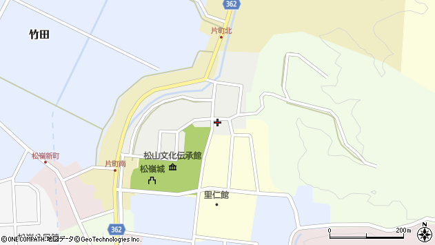 山形県酒田市北町26周辺の地図