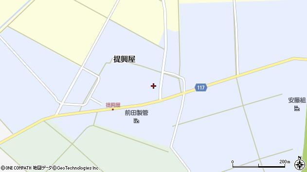 山形県東田川郡庄内町提興屋野岡24周辺の地図