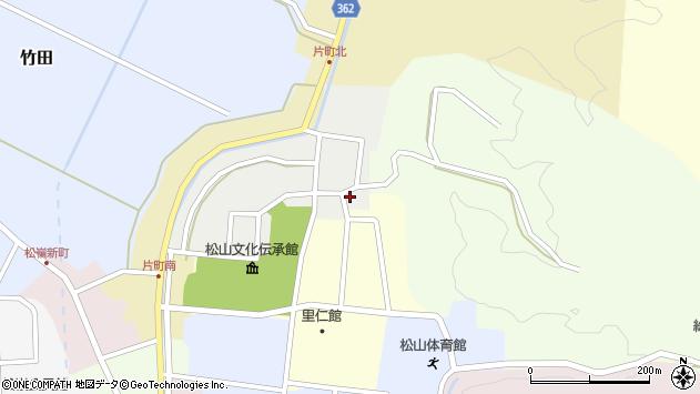 山形県酒田市北町16周辺の地図