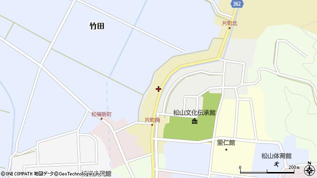 山形県酒田市片町40周辺の地図