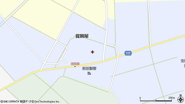 山形県東田川郡庄内町提興屋野岡65周辺の地図