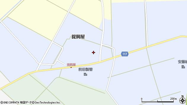 山形県東田川郡庄内町提興屋野岡70周辺の地図