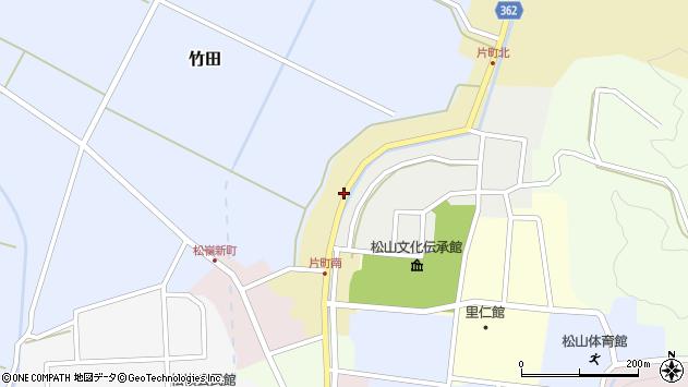 山形県酒田市片町41周辺の地図