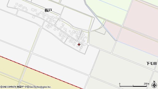 山形県酒田市板戸福岡5周辺の地図