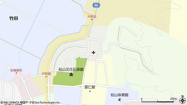 山形県酒田市北町24周辺の地図