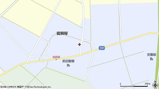 山形県東田川郡庄内町提興屋野岡72周辺の地図