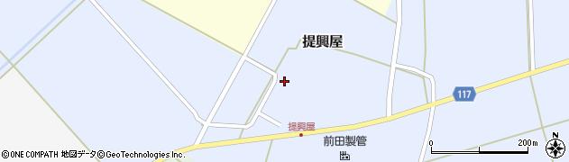 山形県東田川郡庄内町提興屋野岡44周辺の地図