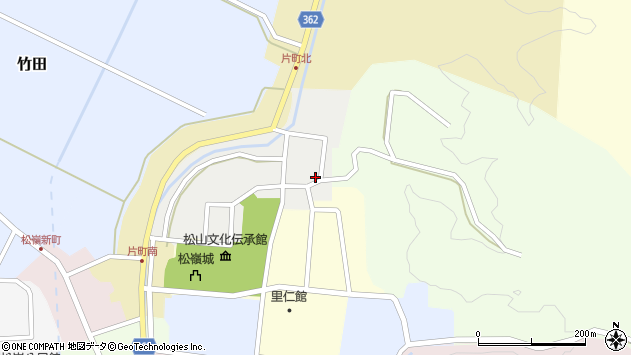 山形県酒田市北町17周辺の地図