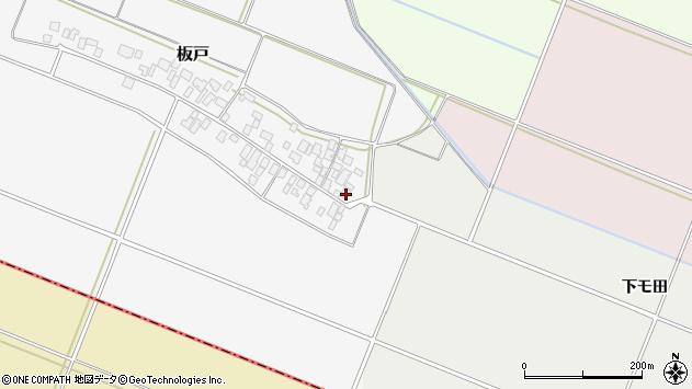 山形県酒田市板戸福岡146周辺の地図