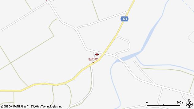 山形県最上郡金山町下野明384周辺の地図