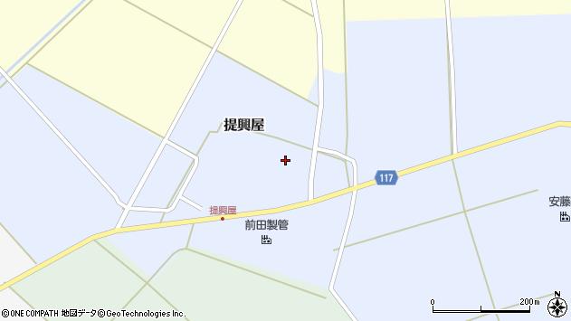 山形県東田川郡庄内町提興屋野岡68周辺の地図
