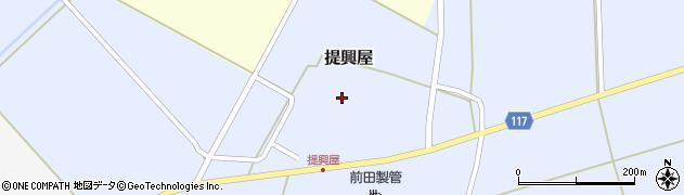 山形県東田川郡庄内町提興屋野岡55周辺の地図