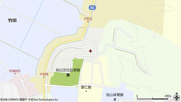 山形県酒田市北町23周辺の地図