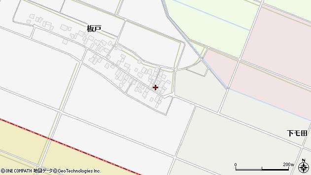 山形県酒田市板戸福岡144周辺の地図