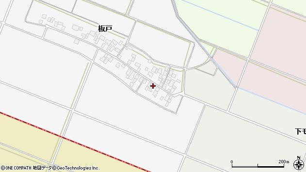 山形県酒田市板戸福岡15周辺の地図