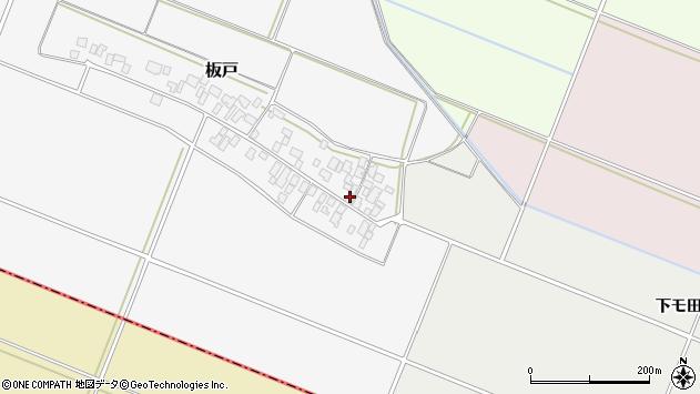 山形県酒田市板戸福岡141周辺の地図