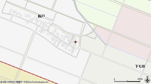 山形県酒田市板戸福岡145周辺の地図