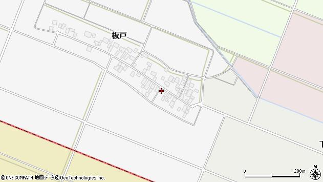 山形県酒田市板戸福岡20周辺の地図