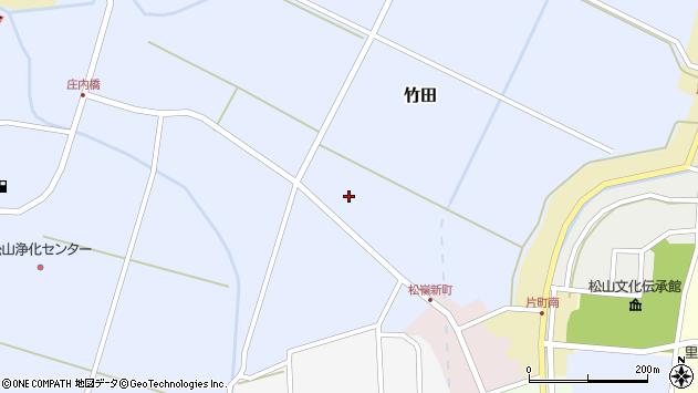 山形県酒田市竹田猿田15周辺の地図