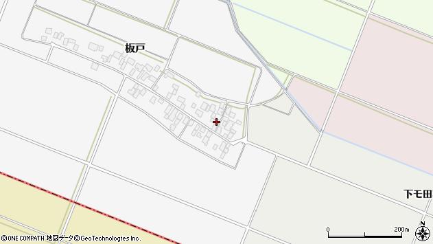 山形県酒田市板戸福岡142周辺の地図