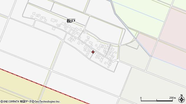 山形県酒田市板戸福岡24周辺の地図