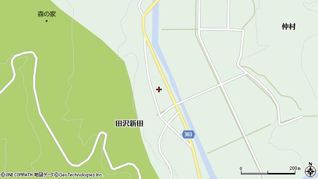 山形県酒田市田沢田沢新田76周辺の地図