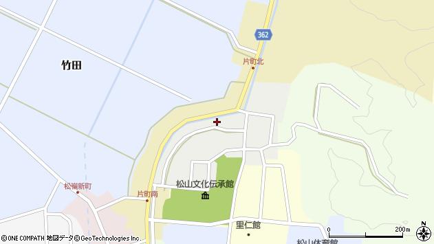 山形県酒田市北町38周辺の地図