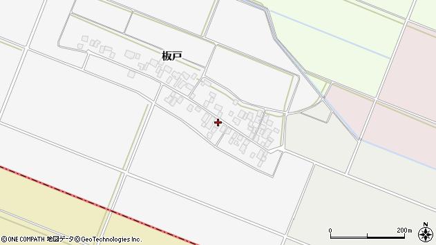 山形県酒田市板戸福岡23周辺の地図