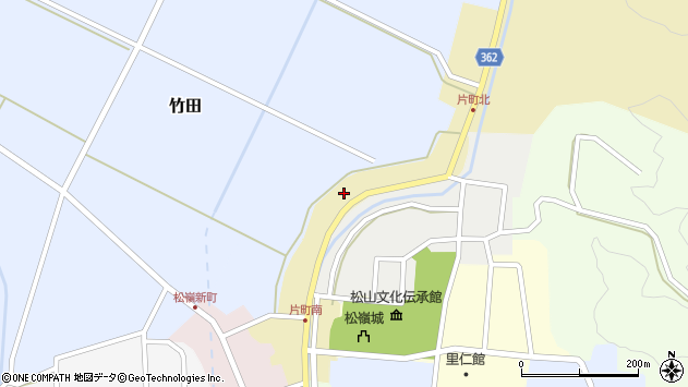 山形県酒田市片町50周辺の地図