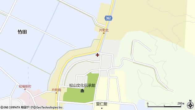 山形県酒田市北町33周辺の地図