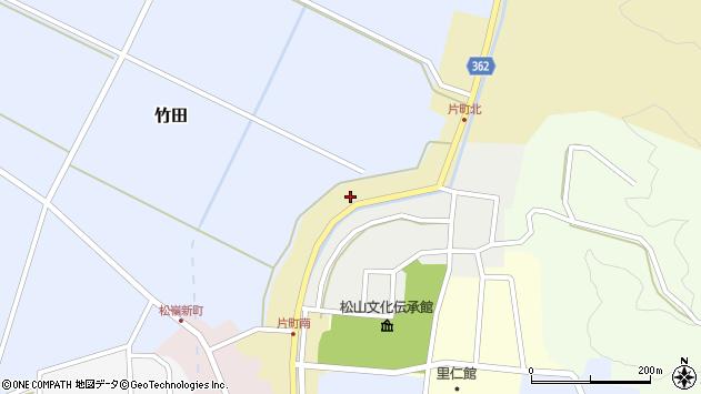 山形県酒田市片町53周辺の地図