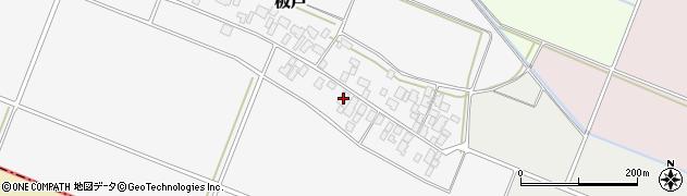 山形県酒田市板戸福岡32周辺の地図