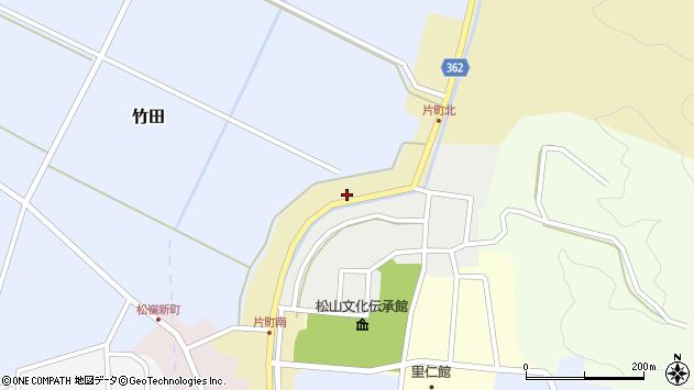 山形県酒田市片町57周辺の地図