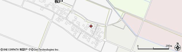 山形県酒田市板戸福岡136周辺の地図