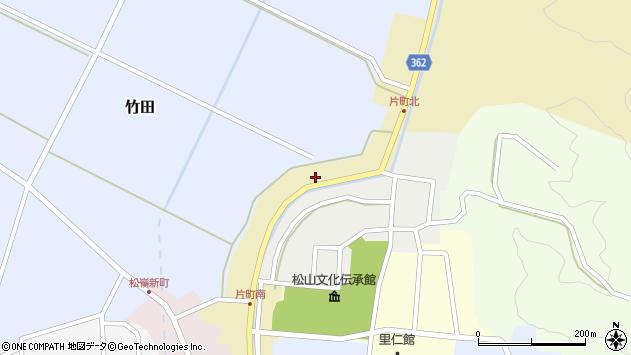 山形県酒田市片町56周辺の地図