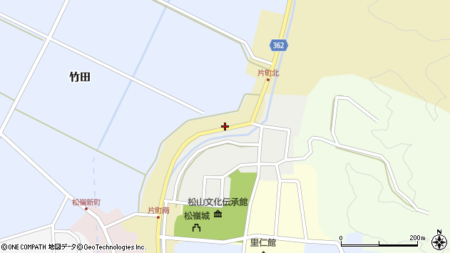 山形県酒田市片町63周辺の地図