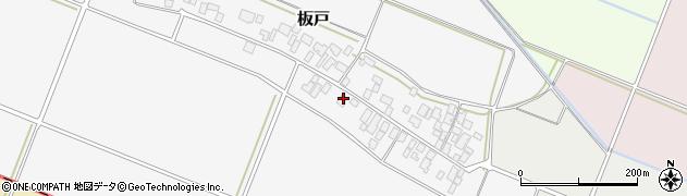 山形県酒田市板戸福岡49周辺の地図