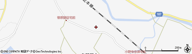 宮城県栗原市金成有壁原山周辺の地図