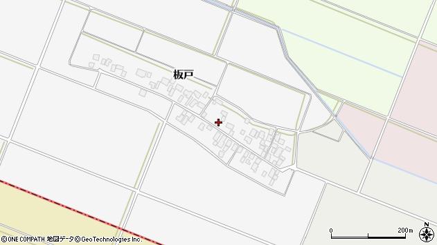 山形県酒田市板戸福岡119周辺の地図