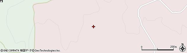 山形県酒田市山元後藤沢山周辺の地図