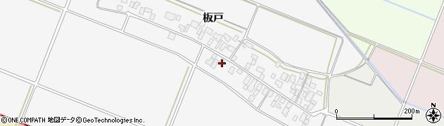 山形県酒田市板戸福岡51周辺の地図