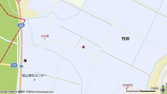 山形県酒田市竹田藤里5周辺の地図